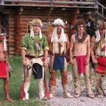 První skupina indiánů je připravena,