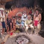 Indiánská skupinová fotografie