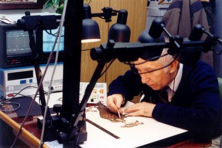 Animační příprava na elektronickém zařízení Quar -1000 od japonské firmy Nac Jiří Větroň