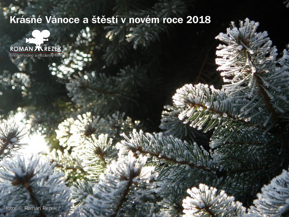 Vánoční blahopřání Roman Rezek Firemní video
